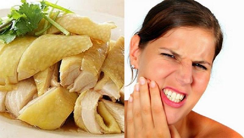 Sâu răng ăn thịt gà được không là thắc mắc chung của rất nhiều người