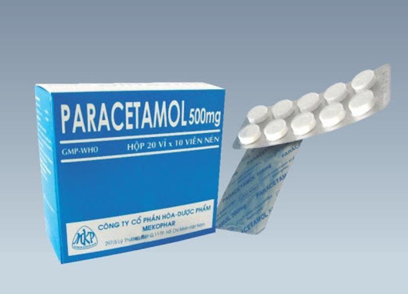 Paracetamol là thuốc giúp giảm cơn đau răng nhanh chóng