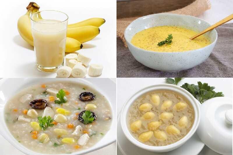 Một số món ăn nên ăn sau khi nhổ răng khôn