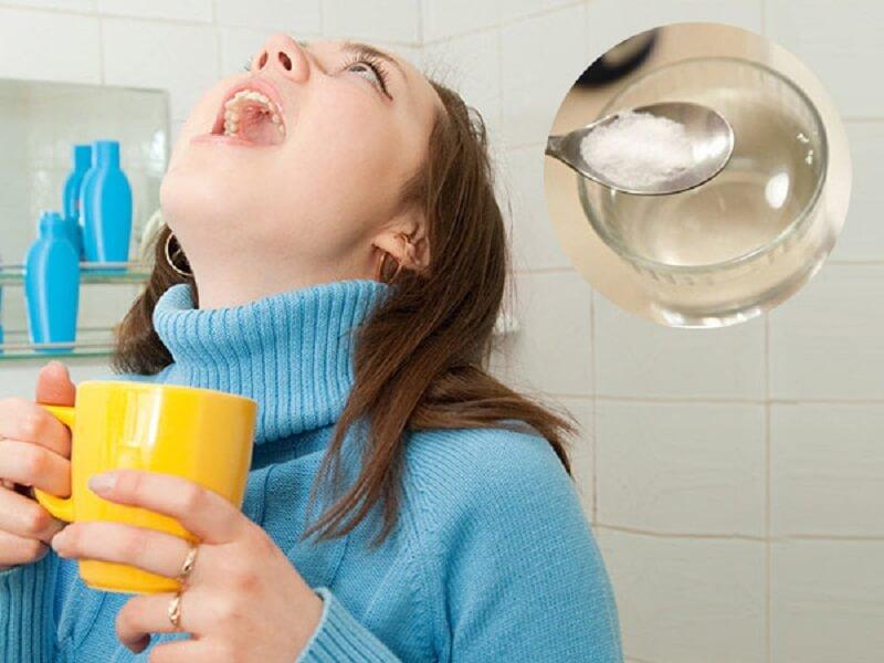 Trong thành phần của nước muối có chứa chất khử trùng