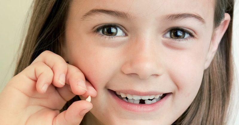 Thời điểm thay răng sữa