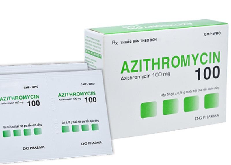 Thuốc kháng sinh trị viêm lợi Azithromycin