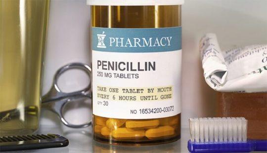 Thuốc điều trị áp xe răng nhóm Penicillin