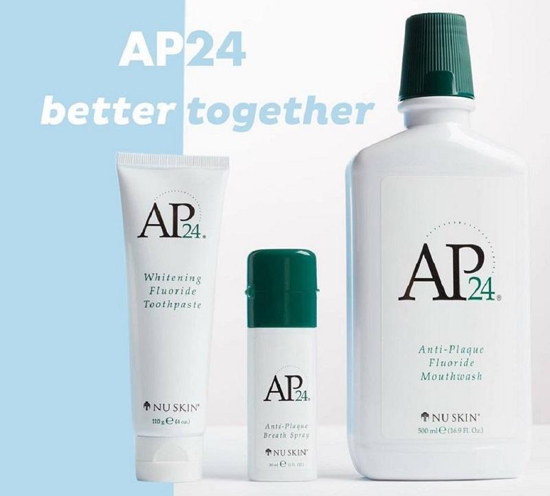 Ap24 Anti-plaque Fluoride Mouthwash Nuskin chuyên về các dòng sản phẩm chăm sóc răng miệng