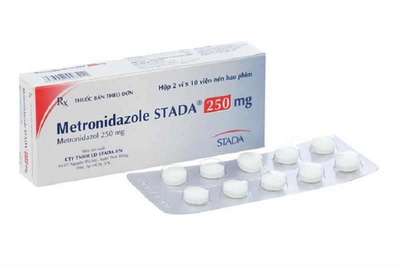 Thuốc kháng sinh chữa viêm nha chu Metronidazol Stada