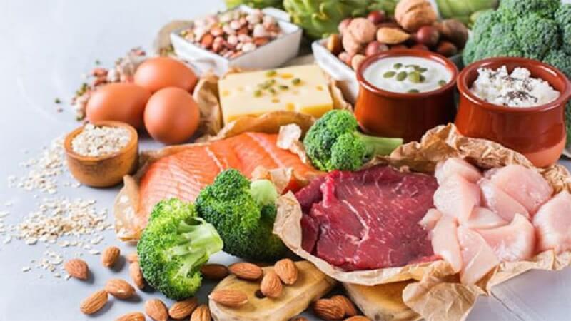 Bổ sung các thực phẩm chứa vitamin, chất xơ