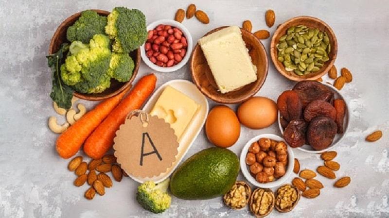 Thực phẩm giàu vitamin A mà người bị viêm nha chu cần bổ sung