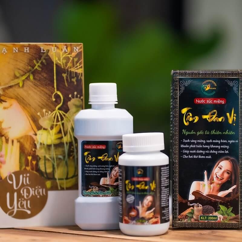 Tâm Đan Vị là sản phẩm được sản xuất tại Việt Nam giúp việc chăm sóc, bảo vệ răng miệng