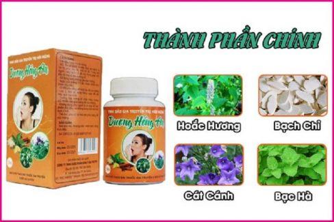 Thuốc hôi miệng Dương Hồng An sử dụng thành phần từ thảo dược tự nhiên