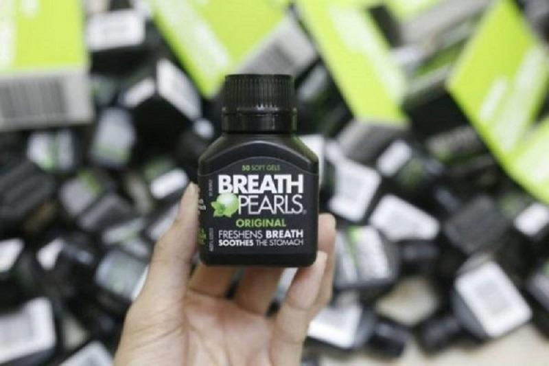 Viên uống Breath Pearls giúp chất bẩn, mảng bám trong khoang miệng được làm sạch