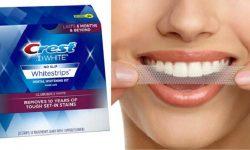 Cách sử dụng miếng trắng răng Crest 3D rất đơn giản