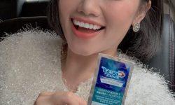 Cách sử dụng miếng dán trắng răng crest hiệu quả