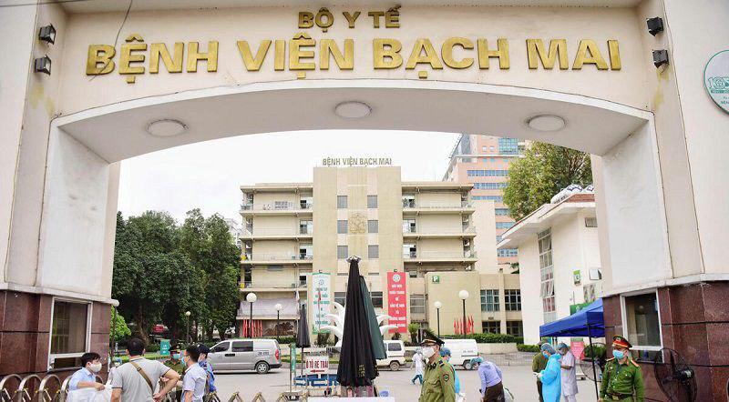 Khoa Răng Hàm Mặt trực thuộc bệnh viện Bạch Mai Hà Nội sở hữu đội ngũ y bác sĩ đầu ngành về nha khoa