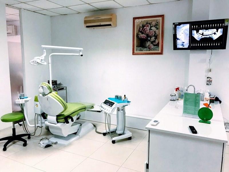 Trang thiết bị hiện đại tại phòng khoa ADEN Dental