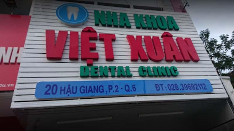 Nha khoa Việt Xuân có nhiều dịch vụ thăm khám đa dạng
