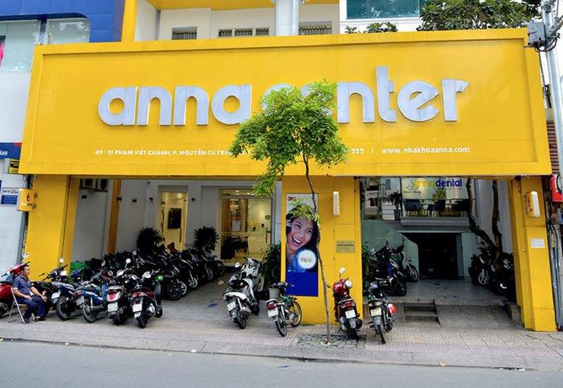 Phòng khoa Anna có rất nhiều cơ sở khác nhau