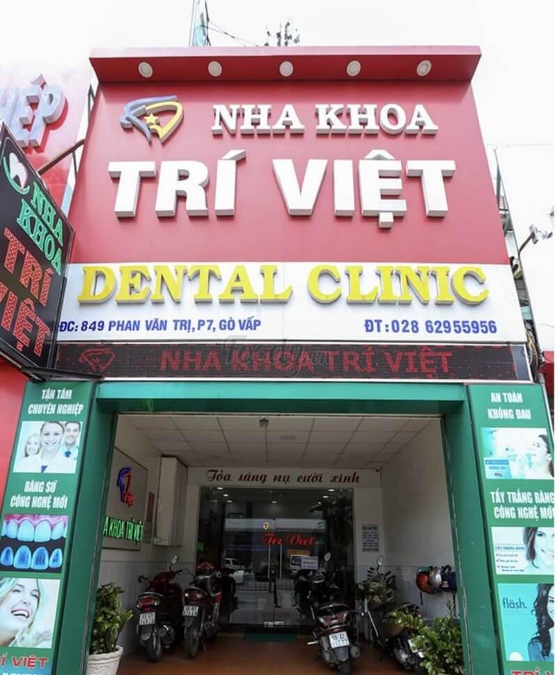 Nha khoa Trí Việt được thành lập từ năm 2007 đến nay, đã và đang dần khẳng định vị thế của minh