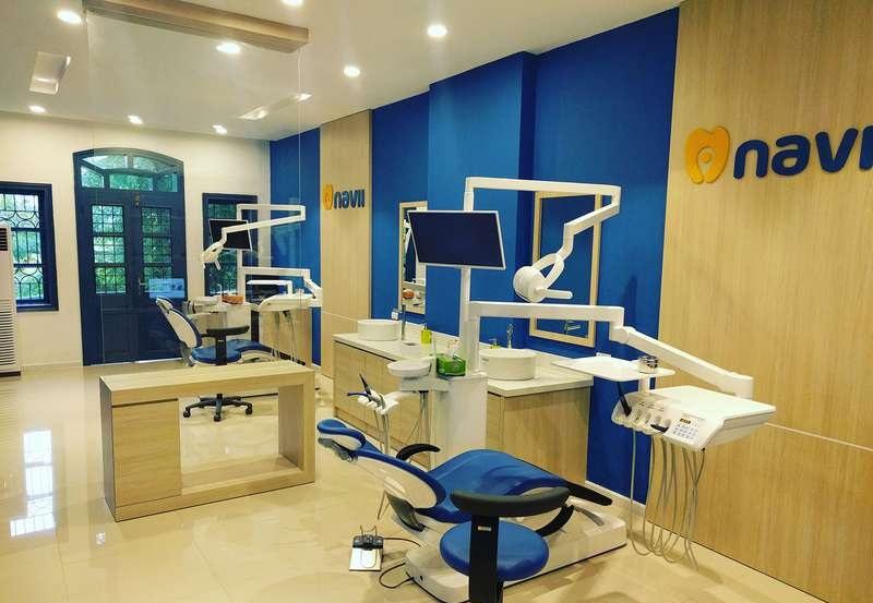 Trang thiết bị tại phòng khoa Navii Dental Care