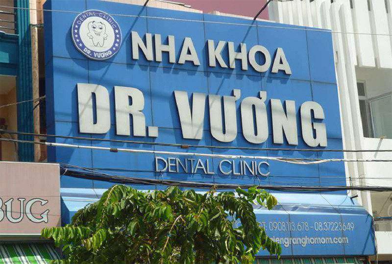 Phòng khoa Dr.Vương - Nha khoa Thủ Đức chất lượng nhất