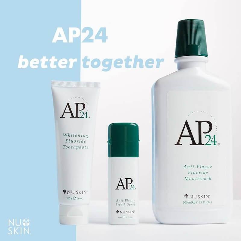 AP24 Fluoride Mouthwash Nuskin là một loại nước súc miệng cao cấp