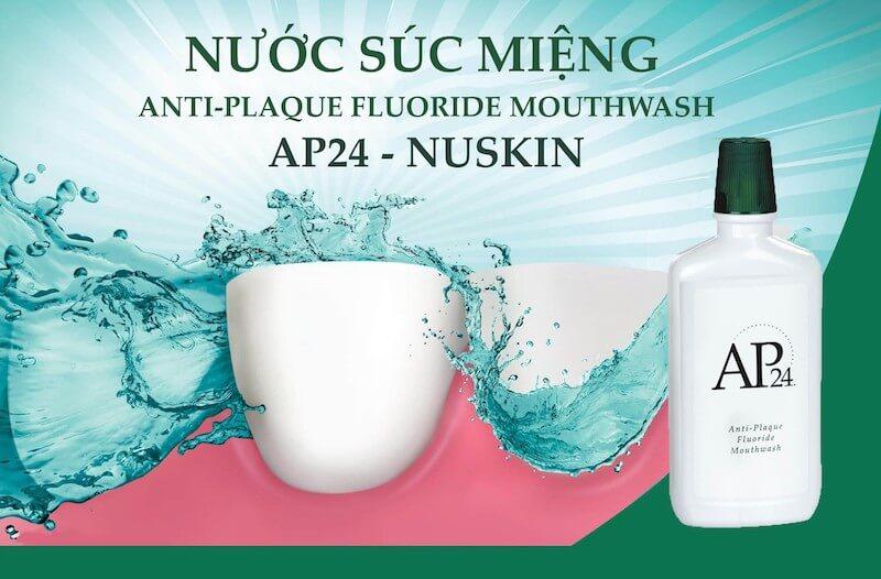 Thuốc trị hôi miệng của Mỹ AP24 là một loại nước súc miệng, sẽ có hiệu quả cao nếu bạn dùng 2 lần mỗi ngày