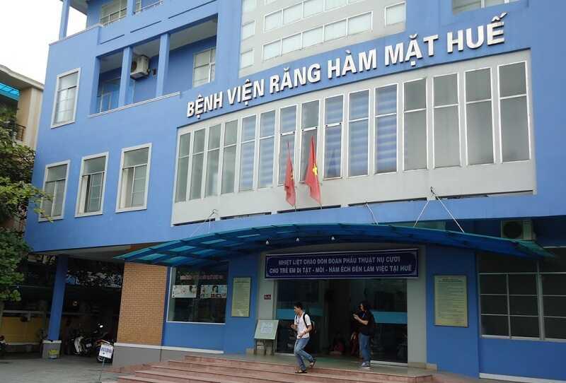 Bệnh viện Răng Hàm Mặt Huế cung cấp các dịch vụ nha khoa uy tín nhất khu vực Thừa Thiên Huế