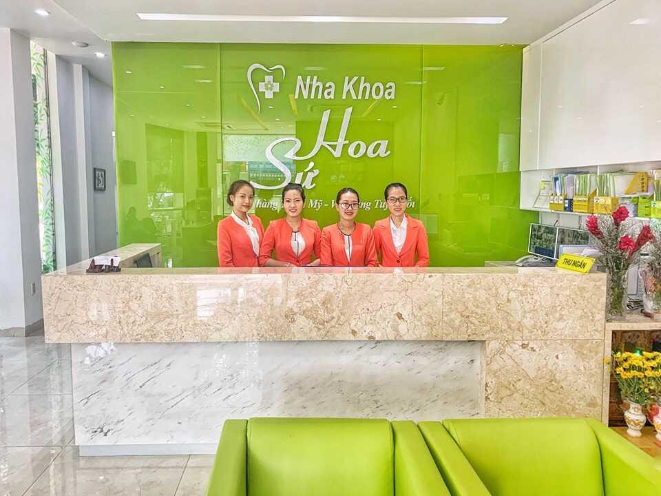 Phòng khám nha Hoa Sứ là thương hiệu nha khoa nổi tiếng tại thành phố Bà Rịa