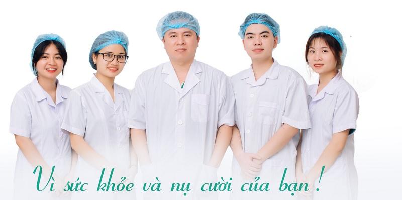 Đội ngũ y bác sĩ tay nghề cao tại nha khoa Bác sĩ Quyết Bắc Giang