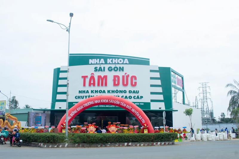 Hình ảnh nha khoa Sài Gòn Tâm Đức ở tỉnh Bến Tre
