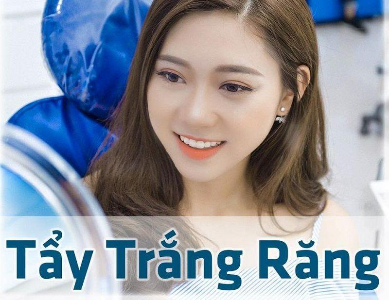Dịch vụ tẩy trắng răng ở nha khoa bác sĩ Ngọc Minh