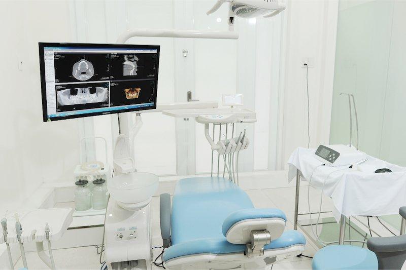 Phòng khám trang bị các thiết bị máy móc hiện đại nhất