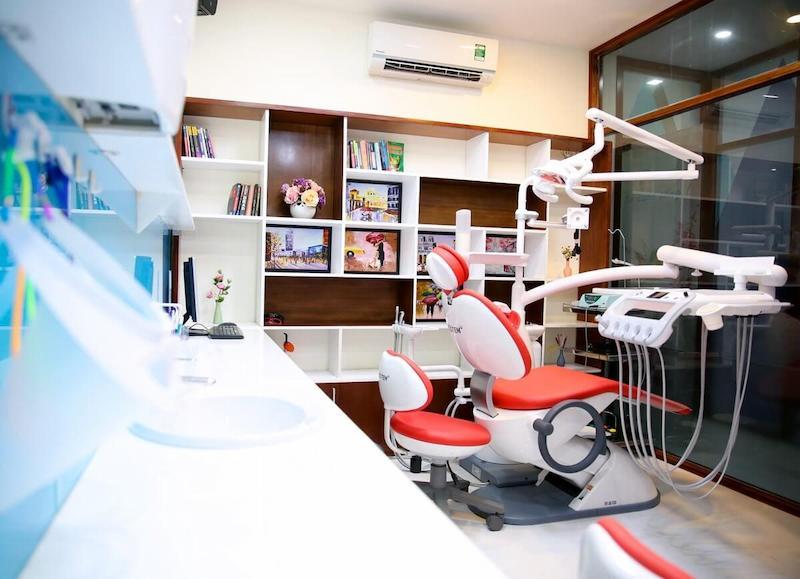 Cơ sở vật chất nha khoa Quang Hải luôn được đầu tư đổi mới