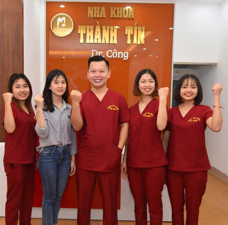 Đội ngũ y bác sĩ Nha khoa Thành Tín