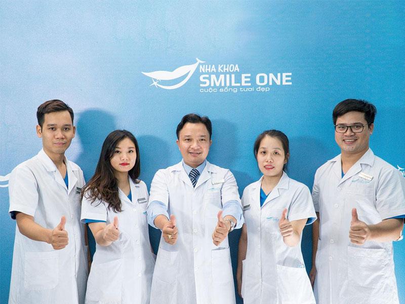 Đội ngũ bác sĩ tại Nha khoa Smile One