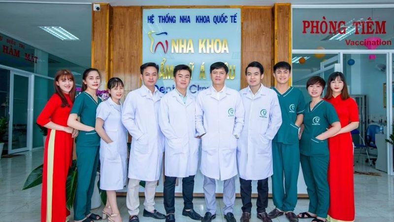 Nha khoa Á Châu có đội ngũ y bác sĩ dày dặn kinh nghiệm