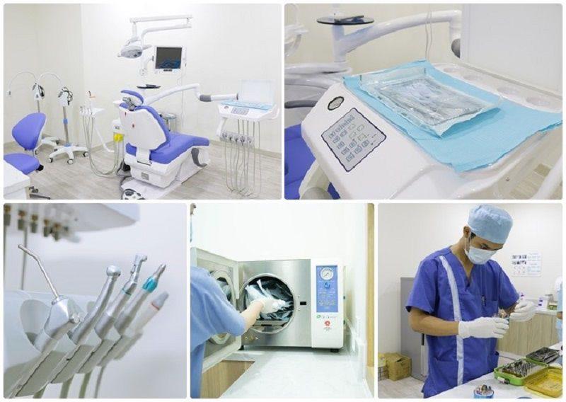 Nha khoa Phương Linh được đầu tư trang thiết bị hiện đại được nhập khẩu trực tiếp từ nước ngoài