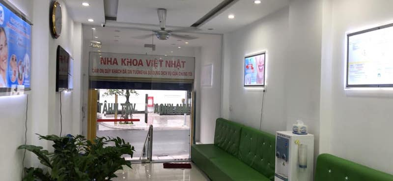Nha khoa Việt Nhật là cơ sở có quy mô lớn, máy móc hiện đại