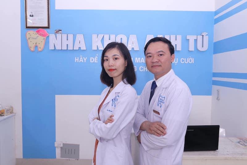 Nha khoa Anh Tú quy tụ đội ngũ bác sĩ chất lượng cao, tay nghề vững