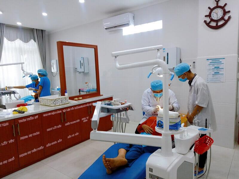 Khoa RHM là khoa lâm sàng trong sơ đồ tổ chức của bệnh viện đa khoa tỉnh Hậu Giang